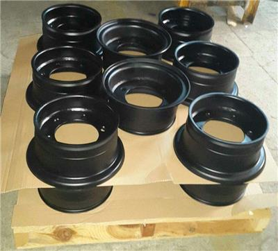 Global Wheel Consult - 5.00S-12 Wheels for solid Snap In Tires
